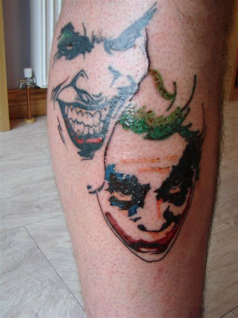 tattoo joker best area joker