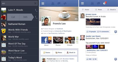 facebook themes on android facebook for android gets a small update updated