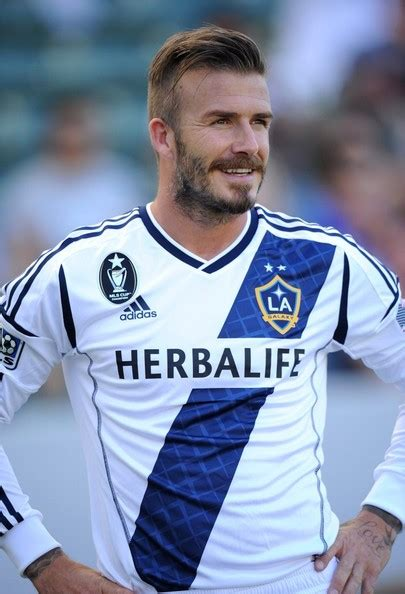 Beckhams To Quit La by Beckham La Galaxy Football Snap
