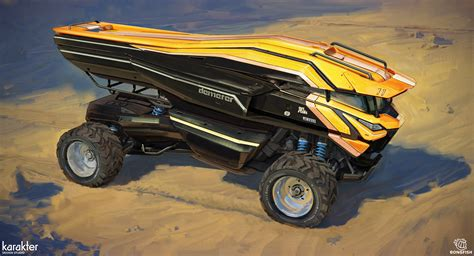 Concept Design Vehicle | art director and concept artist mike hill