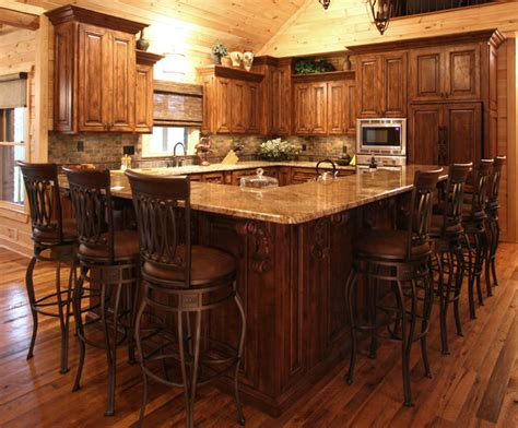 rustic cabin kitchen ideas rustic cabin style traditional kitchen