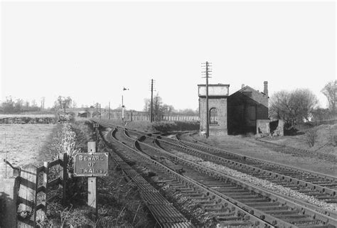 Gwr Engine Sheds by Alcester Station Gwr Shed Alcester Junction With The