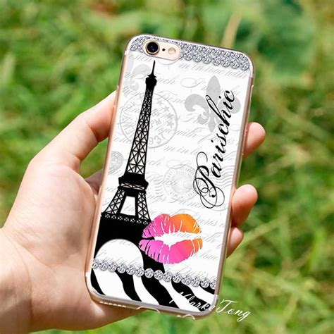 Iphone 6s Eiffel Casing Iphone 6 Iphone 7 Iphone 7 eiffel tower cell phone for iphone 6 6s 7 plus brand logo new york cases coque soft
