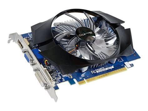 Vga Card Nvidia Geforce 2gb Ddr2 gigabyte geforce gt 730 2gb gddr5 vga dual link dvi d hdmi pci e graphics card ebuyer