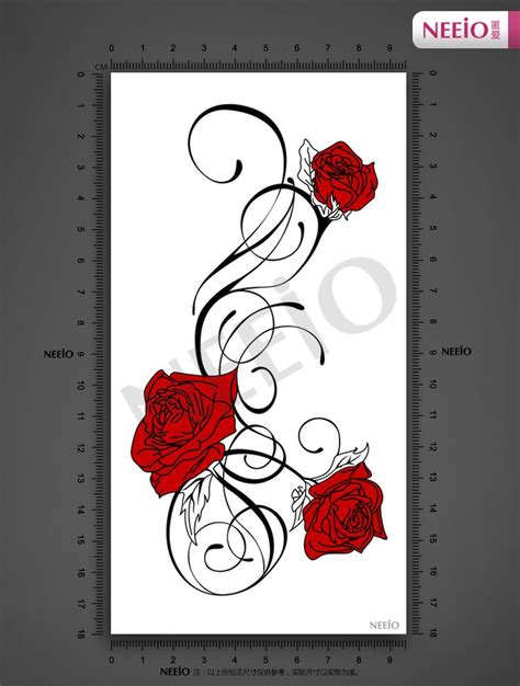 red rose vine tattoo 17 best ideas about vine tattoos on
