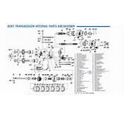 Bert  21 Front Counter Gear For Late Model Transmission IBRPcom