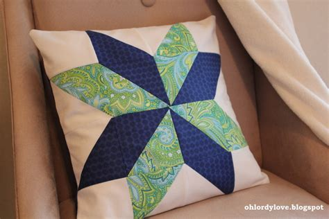 Patchwork Pillowcase - oh lordy challenge patchwork pillow