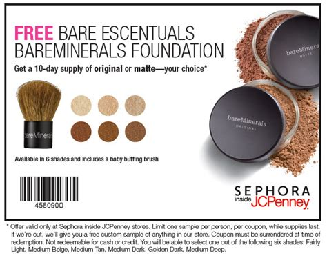 sephora inside jcpenney printable coupons sephora coupons coupon girl