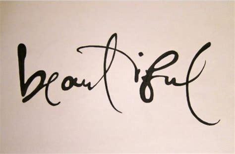 Tattoo Font Beautiful | different word fonts for tattoos star tattoo on right