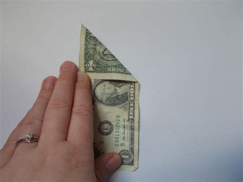 Origami Dollar Bill Tree - how to make an origami tree out of money