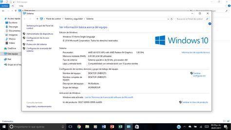 ver imagenes windows 10 foro hp 191 por que windows 10 no me reconoce toda la