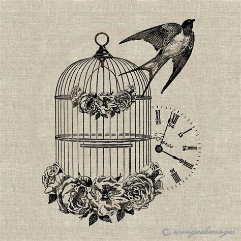 vintage bird tattoo designs 25 best ideas about bird cage tattoos on cage