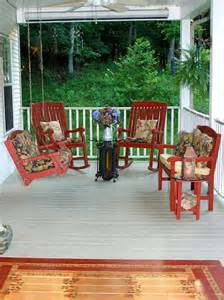 Beautiful and lavish outdoor furniture front porch