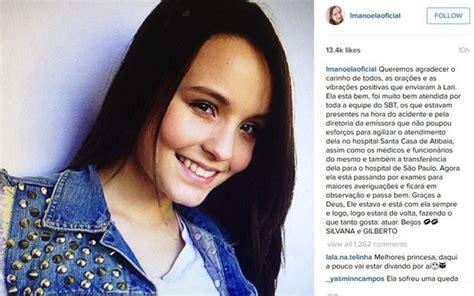 Mata Larissa g1 atriz larissa manoela 233 internada ap 243 s cair de cavalo