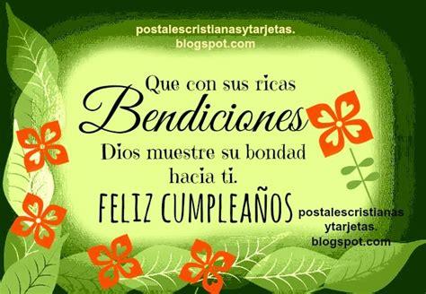 imagenes de cumpleanos religiosa bendiciones en tu cumplea 241 os mensaje cristiano postales