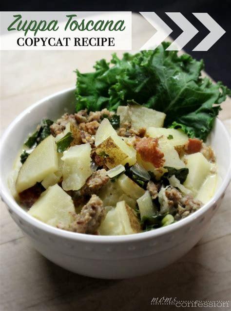 Olive Garden Toscana Soup Recipe by Copycat Olive Garden Zuppa Toscana Soup Recipe