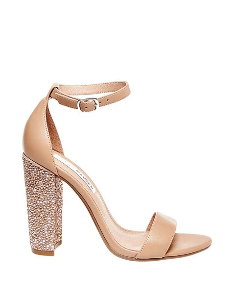 steve madden embellished sandals steve madden carson embellished sandals in lyst
