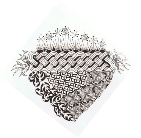 zentangle pattern cruze tangle mania cruze a new pattern
