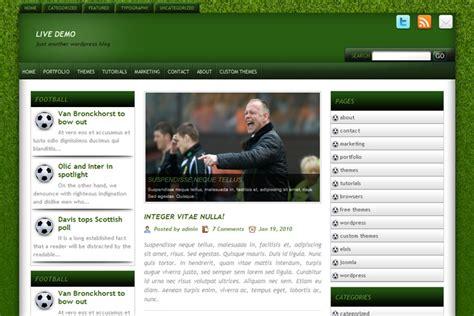 themes wordpress soccer soccer tribune free wp themes wp templates
