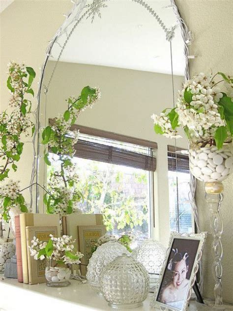 fresh spring mantel decor ideas comfydwellingcom