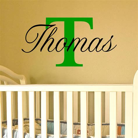 name wall stickers uk name stickers for walls by wall quotes designs by