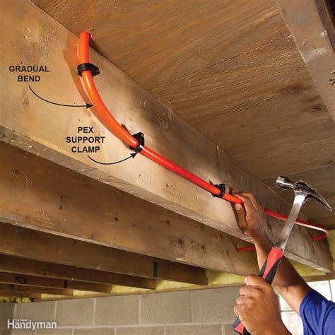 Plumbing With Pex Pipe by Plumbing With Pex Tubing The Family Handyman