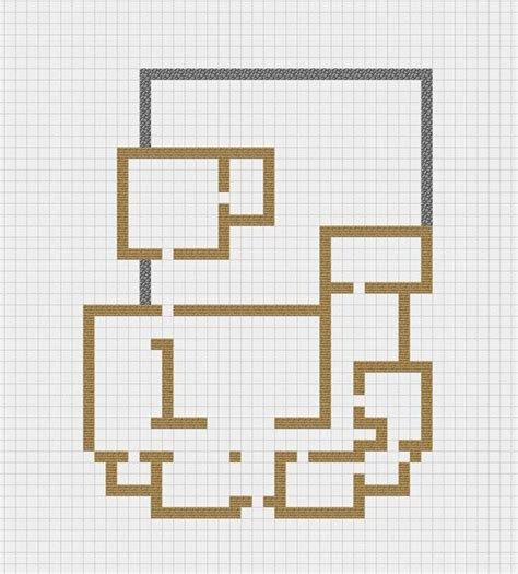 minecraft modern house floor plans how to draw a house like an architect s blueprint minecraft modern house blueprints easy