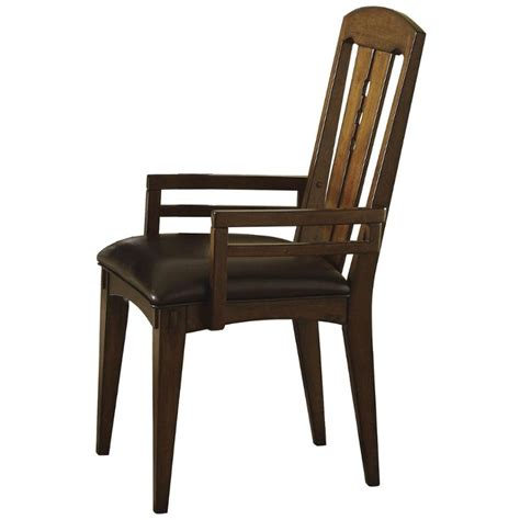 riverside furniture craftsman home dining room arm chair