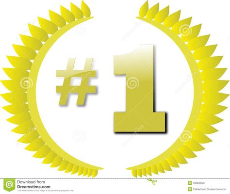 now a number 1 best number 1 award stock photo image 20853650