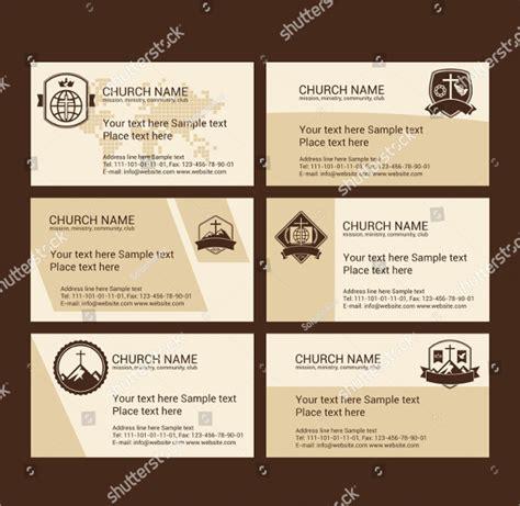 Church Business Card Template by 23 Church Business Card Templates Free Premium Psd Ai