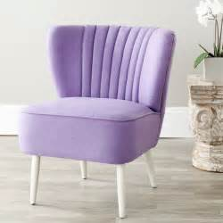 Lavender Accent Chair Safavieh Retro Purple Accent Chair