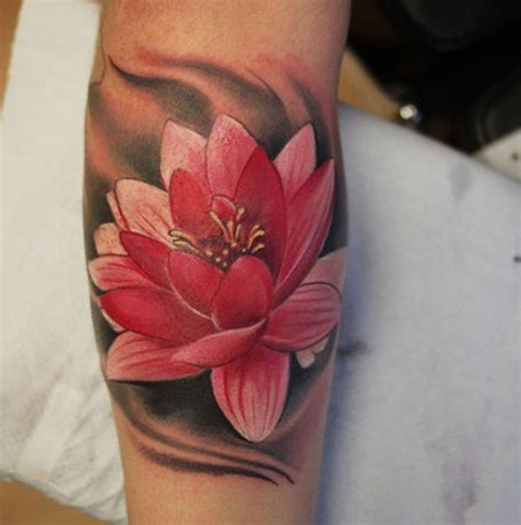 lotus tattoo in arm 30 awesome lotus flower tattoo design