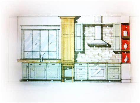 kitchen design sketch modern kitchen sketch concept interiors pinterest