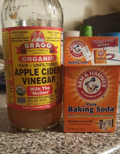 Baking Soda And Vinegar Hair Detox by She Tried It I Did An Apple Cider Vinegar Rinse On My