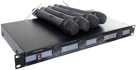 amazon pro amazon com pyle pro pdwm5000 4 mic vhf wireless