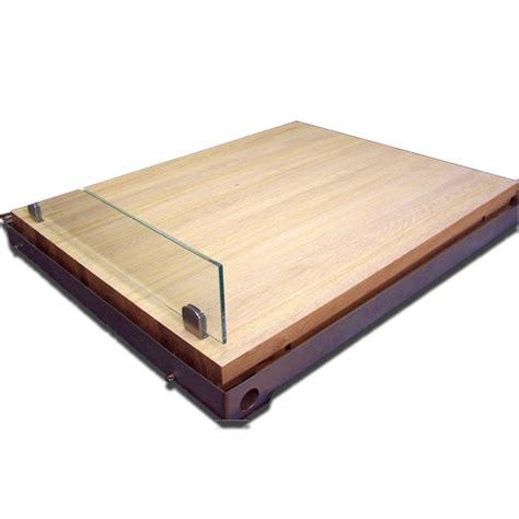 doccia in legno piatto doccia rettangolare in legno