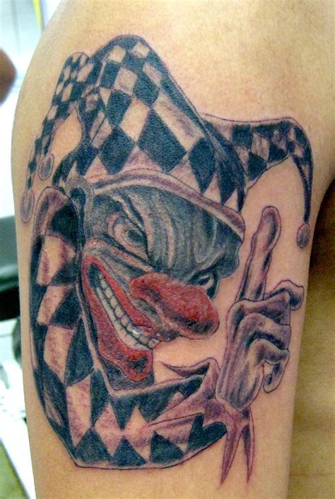 evil joker tattoo meaning clown tattoos ideas meaning plus 24 photos designs