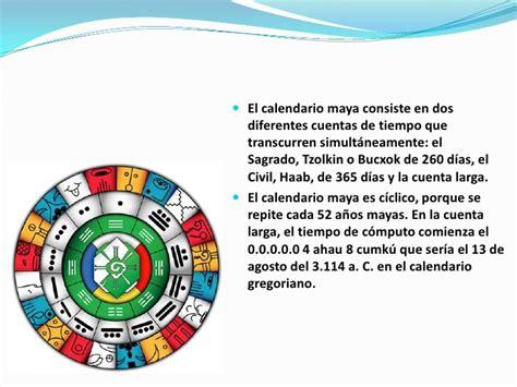 Calendario De Los Mayas Calendario