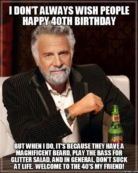 40th Birthday Meme - home memes com