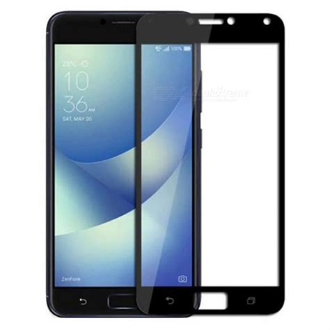 Tempered Glass Asus Zenfone 4 Max Zc554kl Anti Gores Kaca Clear naxtop tempered glass screen protector for asus zenfone 4 max pro 4 max zc554kl black