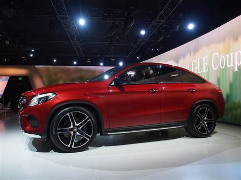 mercedes gle  amg coupe lands  detroit  twin