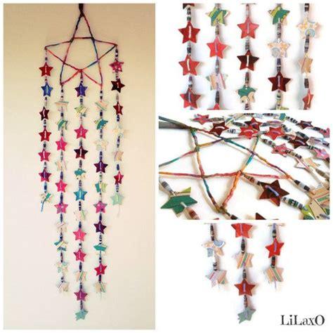 home decor hanging beads bohemian boho gypsy hippie mobile hanging decor stars