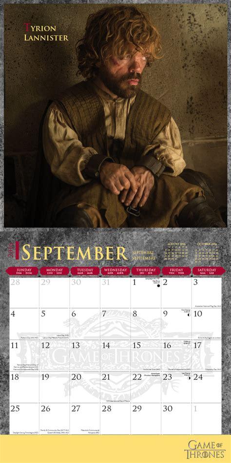 Calendar 2018 Of Thrones Of Thrones Calendars 2018 On Abposters