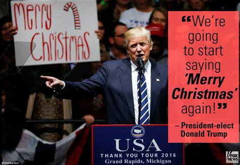 rally crowds beautiful response  trump wishes  merry christmas video