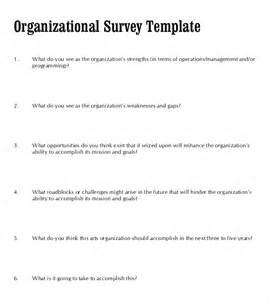 survey document template 10 blank survey templates free sle exle format