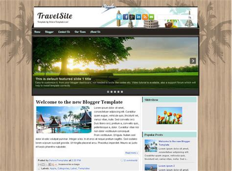 free xml flash templates for blogger 45 beautiful blogger templates free to use smashingapps com