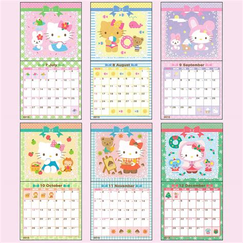 hello kitty planner 2015 printable printable calendar 2015 hello kitty calendar