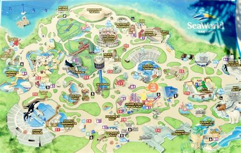 map world san diego seaworld top attractions top 10 tips the frugal