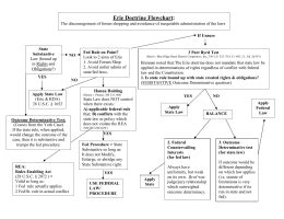 erie flowchart erie doctrine bar mind