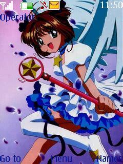 anime themes nokia 6120c download anime girl nokia theme mobile toones